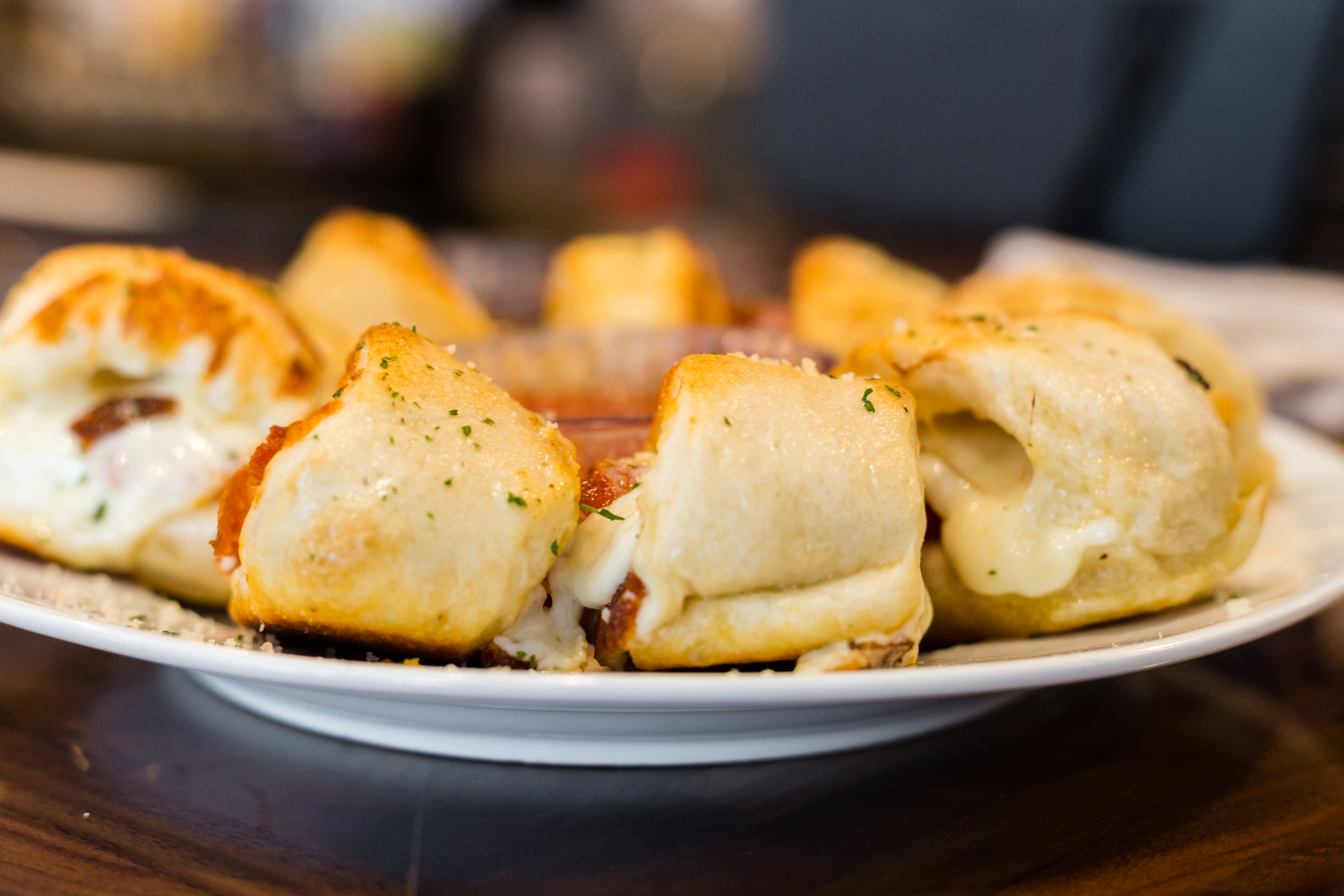 Mozzarella rolls at Windy City Pizza & Pub